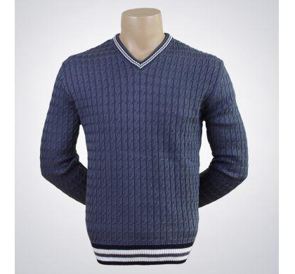 Пуловер (1122), цвет Джинсовый, D.Steech, фото № 1