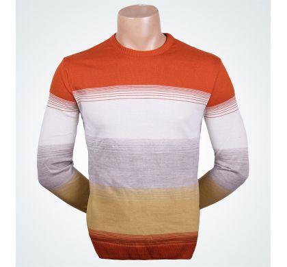Классический джемпер (1143A), цвет Оранжевый, D.Steech, фото № 2