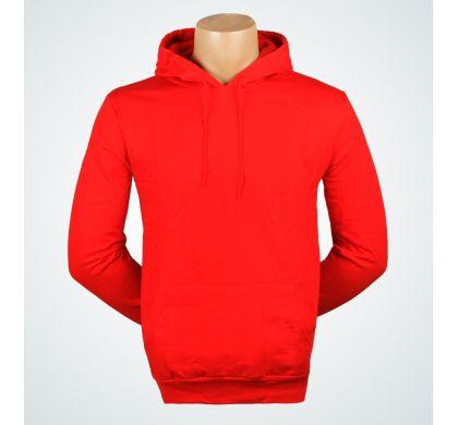 Толстовка с капюшоном, цвет Красный, D.Steech, фото № 4