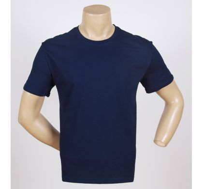 Футболка 100% хлопок (P-26A), цвет Темно-синий, D.Steech, фото № 17