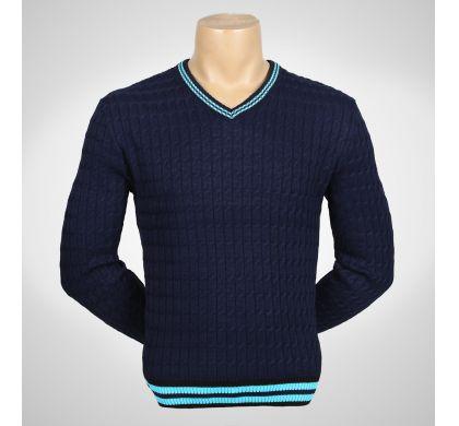 Пуловер (1122), цвет Синий, D.Steech, фото № 3