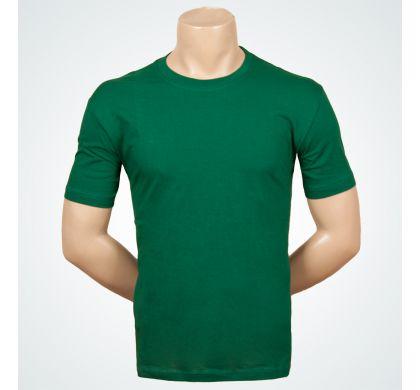 Футболка 100% хлопок (P-26A), цвет Темно-зеленый, D.Steech, фото № 2