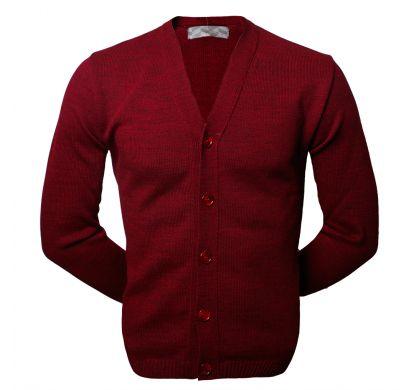 Классический кардиган (1106), цвет бордовый, D.Steech, фото № 2