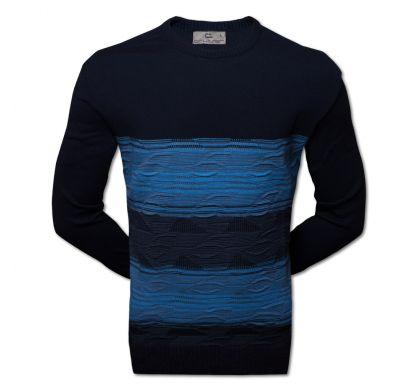 Классический джемпер (1404), цвет синий\голубой, D.Steech, фото № 2