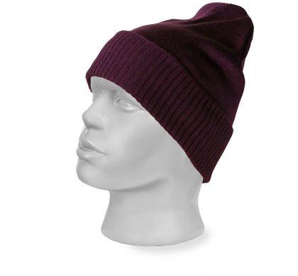Молодежная шапка-колпак (1202), цвет фиолетовый, D.Steech, фото № 2