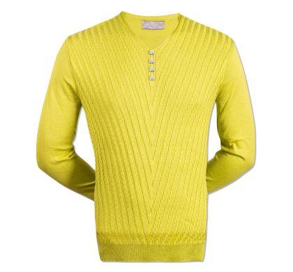 Тонкий пуловер (1427), цвет салатовый, D.Steech, фото № 1