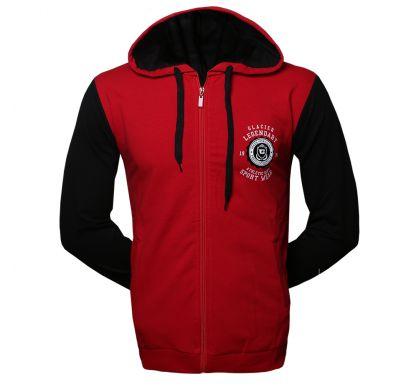 Спортивная толстовка (T-3019), цвет бордо/черный, D.Steech, фото № 6