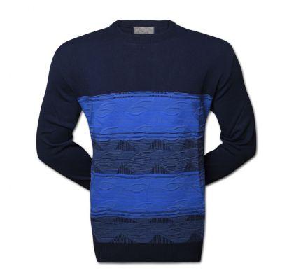 Классический джемпер (1404), цвет синий/голубой, D.Steech, фото № 1