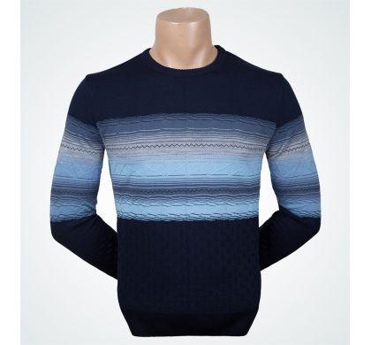 Стильный джемпер (1226), цвет синий, D.Steech, фото № 1