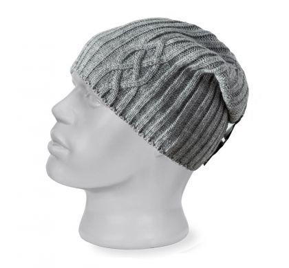 Шерстяная шапка (525), цвет св.серый, D.Steech, фото № 1
