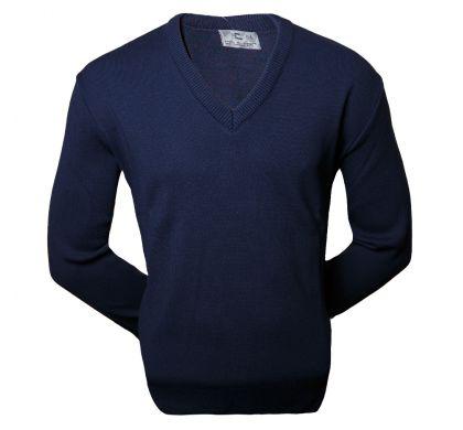 Классический пуловер ( 809 ), цвет синий, D.Steech, фото № 1