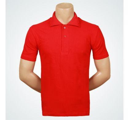 Футболка поло (Т-007 ), цвет Красный, D.Steech, фото № 3
