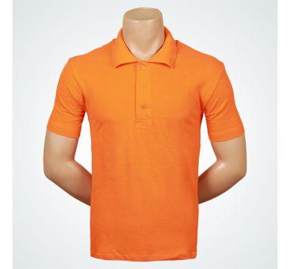 Футболка поло (Т-007 ), цвет Оранжевый, D.Steech, фото № 2
