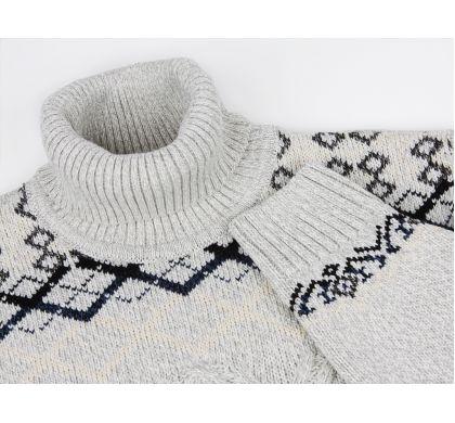 Теплый свитер с орнаментом(1142), цвет , D.Steech, фото № 2