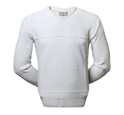 Стильный пуловер (1231), цвет светло-серый, D.Steech, фото № 1