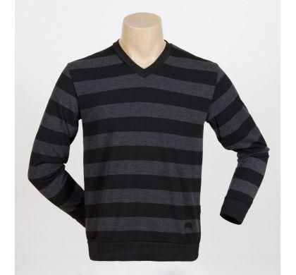 Легкая полосатая футболка (2094v), цвет Темно-серый, D.Steech, фото № 4
