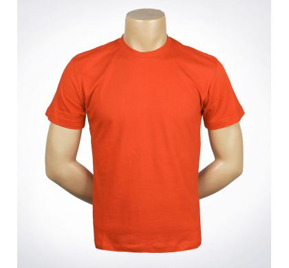 Футболка 100% хлопок (P-26A), цвет Оранжевый, D.Steech, фото № 18