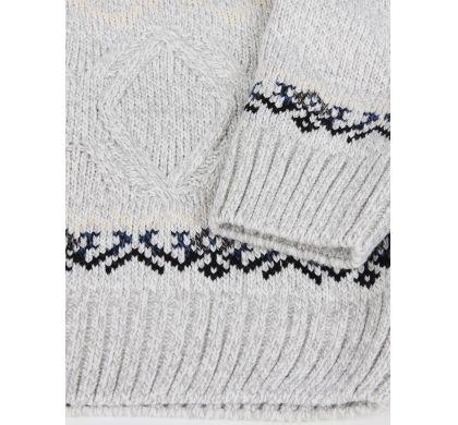 Теплый свитер с орнаментом(1142), цвет , D.Steech, фото № 4