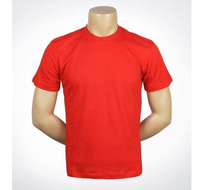 Футболка подростковая 100% хлопок (D-01A), цвет Красный, D.Steech, фото № 12