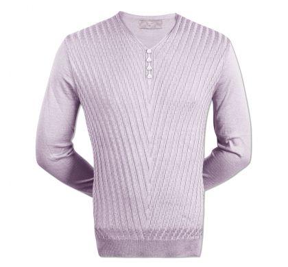 Тонкий пуловер (1427), цвет светло-серый, D.Steech, фото № 2