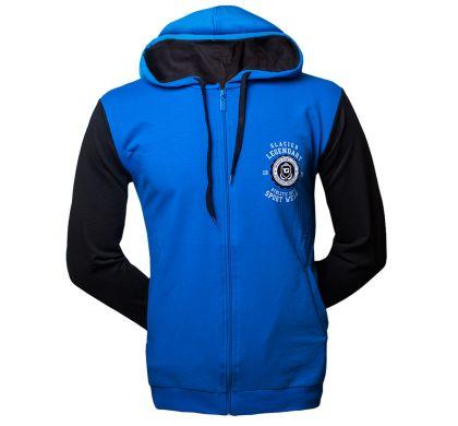 Спортивная толстовка (T-3019), цвет синий/черный, D.Steech, фото № 4