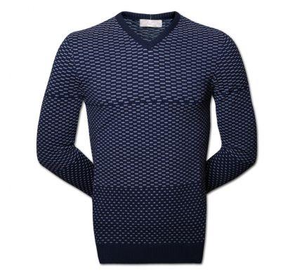 Классический пуловер (1313), цвет серый, D.Steech, фото № 1
