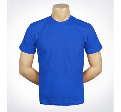 Футболка подростковая 100% хлопок (D-01A), цвет Синий, D.Steech, фото № 11