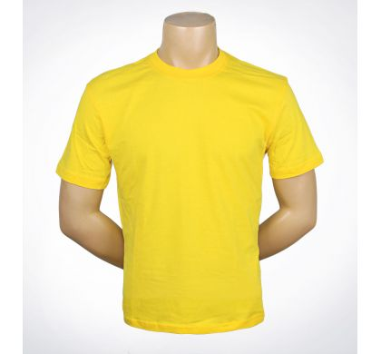 Футболка подростковая 100% хлопок (D-01A), цвет Желтый, D.Steech, фото № 14