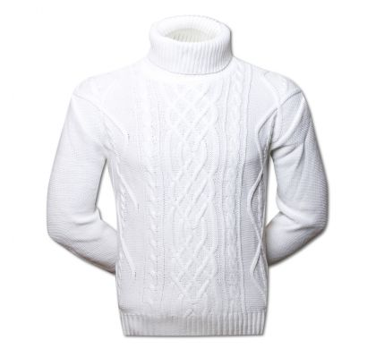 Белый свитер (1369), цвет белый, D.Steech, фото № 1