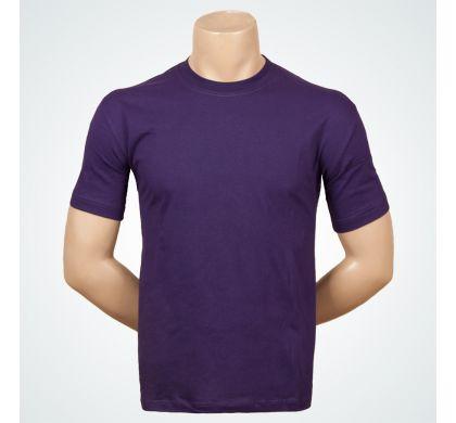 Футболка подростковая 100% хлопок (D-01A), цвет Фиолетовый, D.Steech, фото № 2