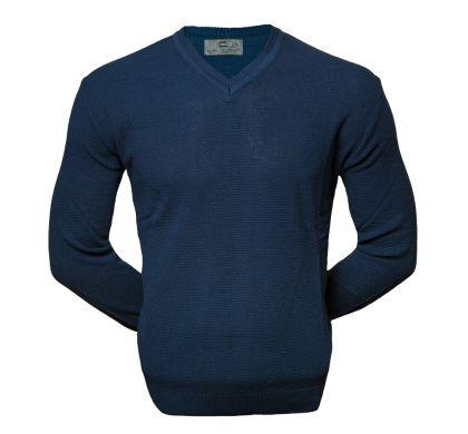 Классический пуловер (1535), цвет хаки, D.Steech, фото № 1