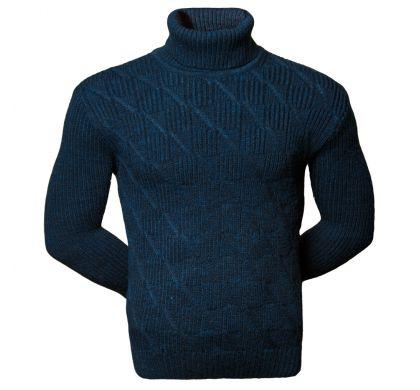 Теплый свитер (1620), цвет синий, D.Steech, фото № 1