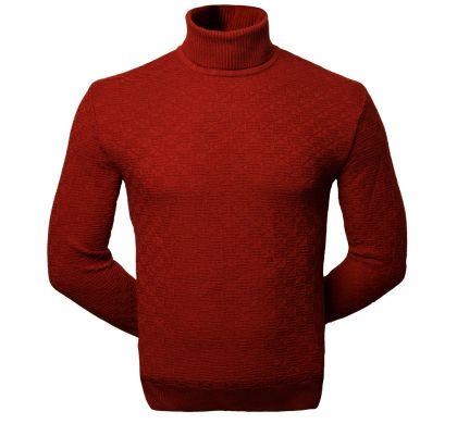 Тонкий свитер (1650), цвет теракотовый, D.Steech, фото № 1