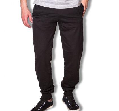 Спортивные брюки с манжетами ( T-3027 ), цвет черный, D.Steech, фото № 3