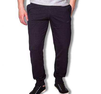 Спортивные брюки с манжетами ( T-3027 ), цвет т.синий, D.Steech, фото № 1