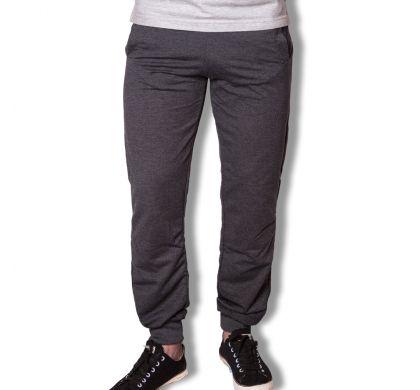 Спортивные брюки с манжетами ( T-3027 ), цвет антрацит, D.Steech, фото № 6
