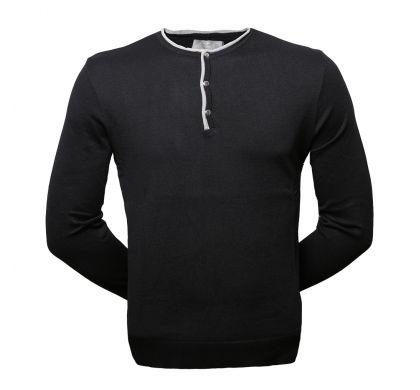 Стильный пуловер (1257), цвет чёрный, D.Steech, фото № 1