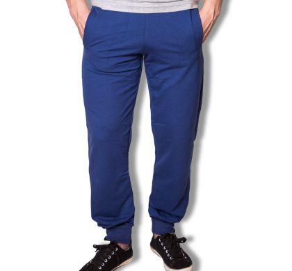 Спортивные брюки с манжетами ( T-3027 ), цвет джинс, D.Steech, фото № 5