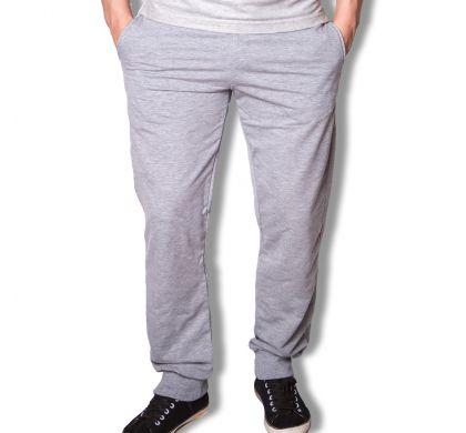 Спортивные брюки с манжетами ( T-3027 ), цвет меланж, D.Steech, фото № 4