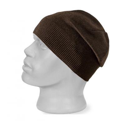 Шерстяная шапка (815), цвет коричневый, D.Steech, фото № 1