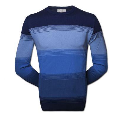 Классический джемпер (1143A), цвет синий-голубой, D.Steech, фото № 1
