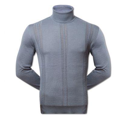 Тонкий свитер (AR17), цвет св.серый, D.Steech, фото № 6